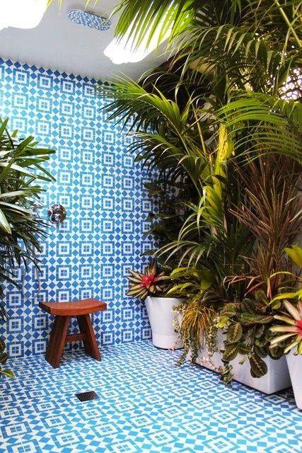Salle de bain / plantes