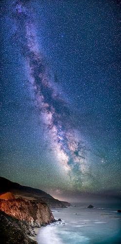 Galaxy Coast ~ Milky Way, Notleys Landing, California