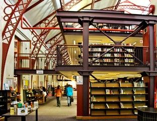 Cape Town Library, old Drill Hall