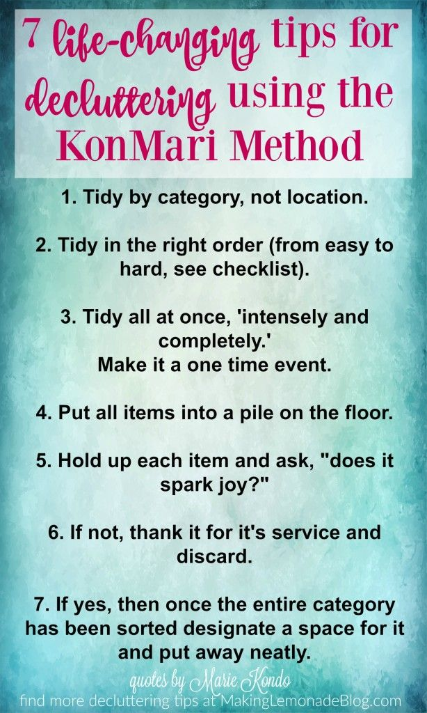 The KonMari Method will change your entire life: here's a quick guide to how to get started decluttering and organizing like a pro!