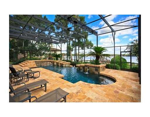 Covered pool florida style awesome dream home for Pool designs florida