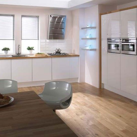 Hygena Arletta White   Shown with Solid Oak Worksurface  This look is  perfect for adding. 17 Best images about Hygena Kitchens on Pinterest