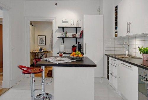 liten leilighet kjøkkenøy - Google-søk