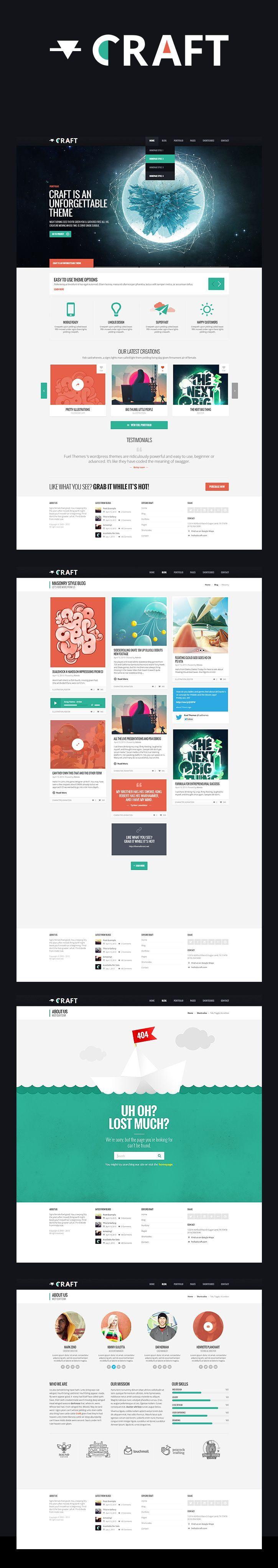 Webdesign Schweiz | Jetzt kostenlose Offerte anfordern http://www.swisswebwork.ch Craft - WP Theme