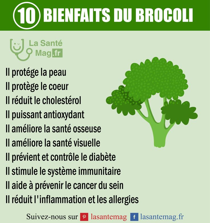 Les bienfaits du brocolis