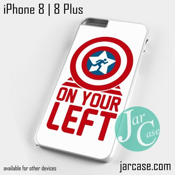 On your left captain america 4 Phone case for iPhone 8 | 8 Plus
