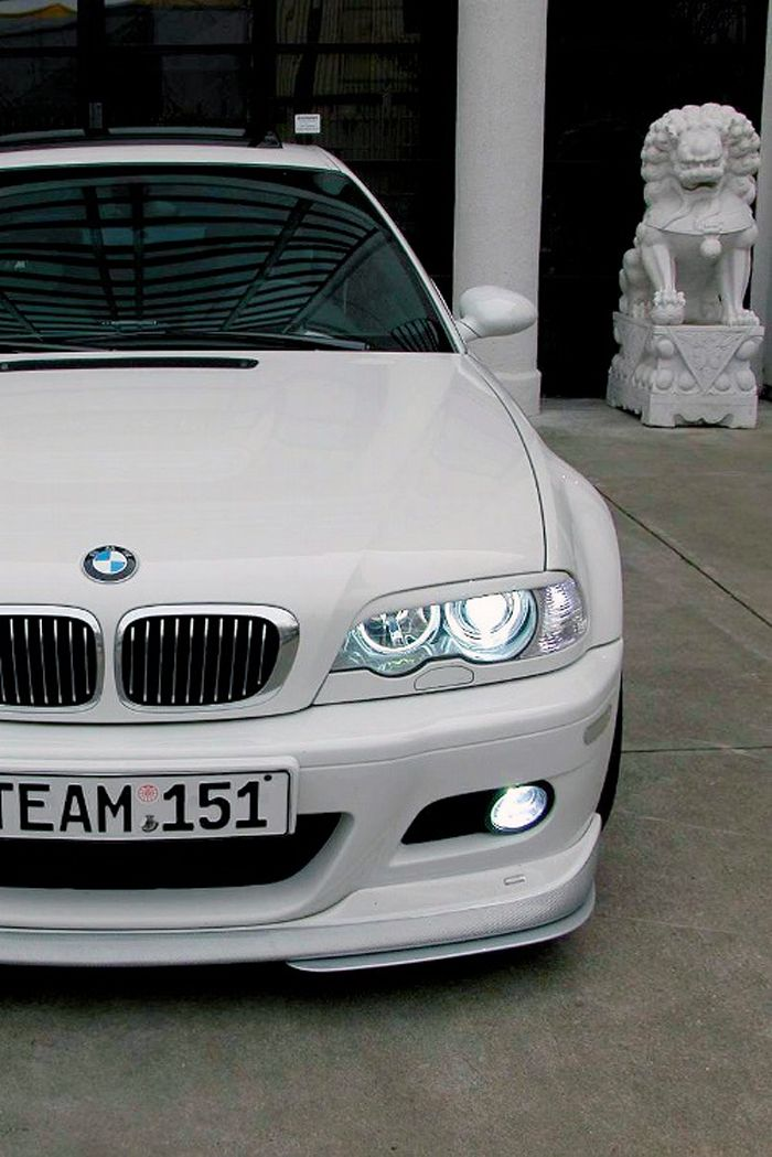 BMW M3 E46 All white