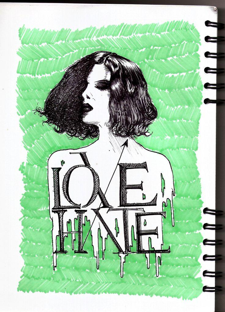 Love and Hate by Davidj barrero