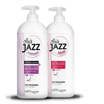 HAIRJAZZ Shampoo + Conditioner 1000ml - 3 gange hurtigere hårvækst!