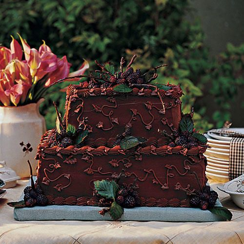Chocolate Velvet Groom's Cake - Make Your Own Wedding Cake - Southernliving. Although groom's cakes are not traditionally served in all regions of the country, guests often appreciate having an alternative to the traditional bride's cake. This version features a nutty pecan filling that guests are sure to love.Recipe: Chocolate Velvet Groom's Cake