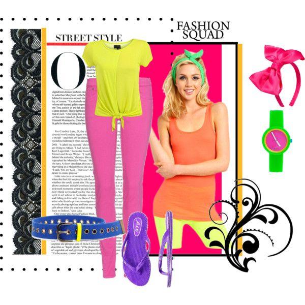 """""""Ideas para vestirse de los 80"""" by bellahermosacom on Polyvore"""