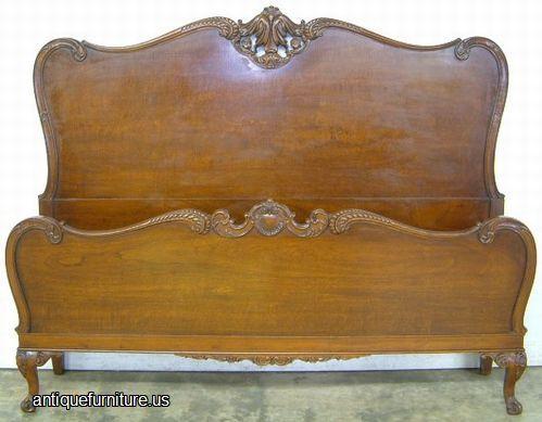 Ornate Mahogany Bed Image. Antique FurnitureBedroom ...