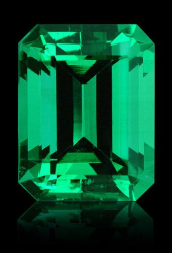 Colombian Emerald Cut: