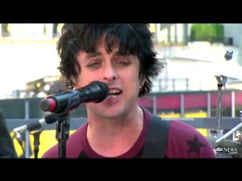 Green Day - Stay the Night @ Good Morning America (Billie Joe is gorgeous)