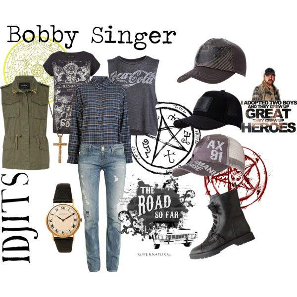"""Supernatural- Bobby Singer"" by mkcf on Polyvore"