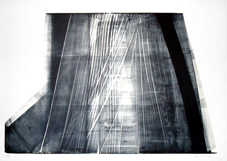 Hans Hartung > L-5 #hanshartung #hartung #abstract #lithograph