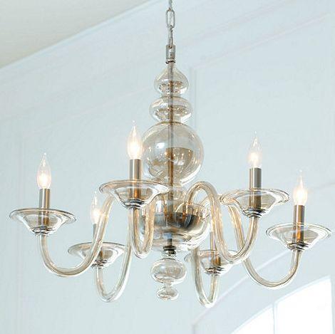 Ballard Designs Emmeline 6 Light Chandelier