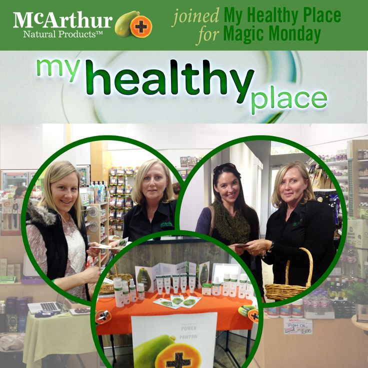 Our WA Sales Consultant Janice French represented McArthur Skincare for Magic Monday at both Floreat and Karrinyup My Health Place stores. Great to see many friendly faces and consumers of McArthur Skincare in-store to hand out brochures and discuss the product range.  #mnp #mcarthurnaturalproducts #myhealthyplace