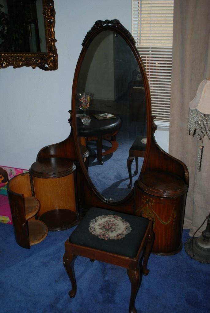 antique vanity   eBay I want this!!!