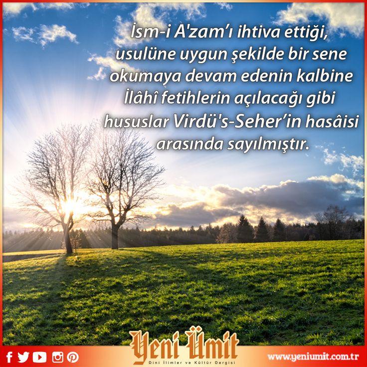 'Mustafa Sıddık el- Bekrî ve Seher Virdi' başlıklı yazımızı okumak için: http://www.yeniumit.com.tr/konular/detay/mustafa-siddik-el-bekri-ve-seher-virdi-108 #yeniümitdergi #yeniümit #dergi #sehervirdi #seher #vird #dua #zikir #pray #kul #mümin