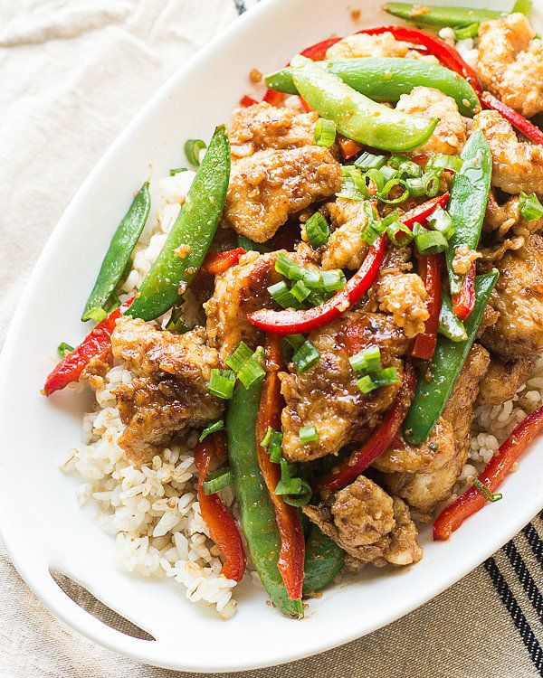 Lightened-Up Mongolian Chicken Is No Less Delicious
