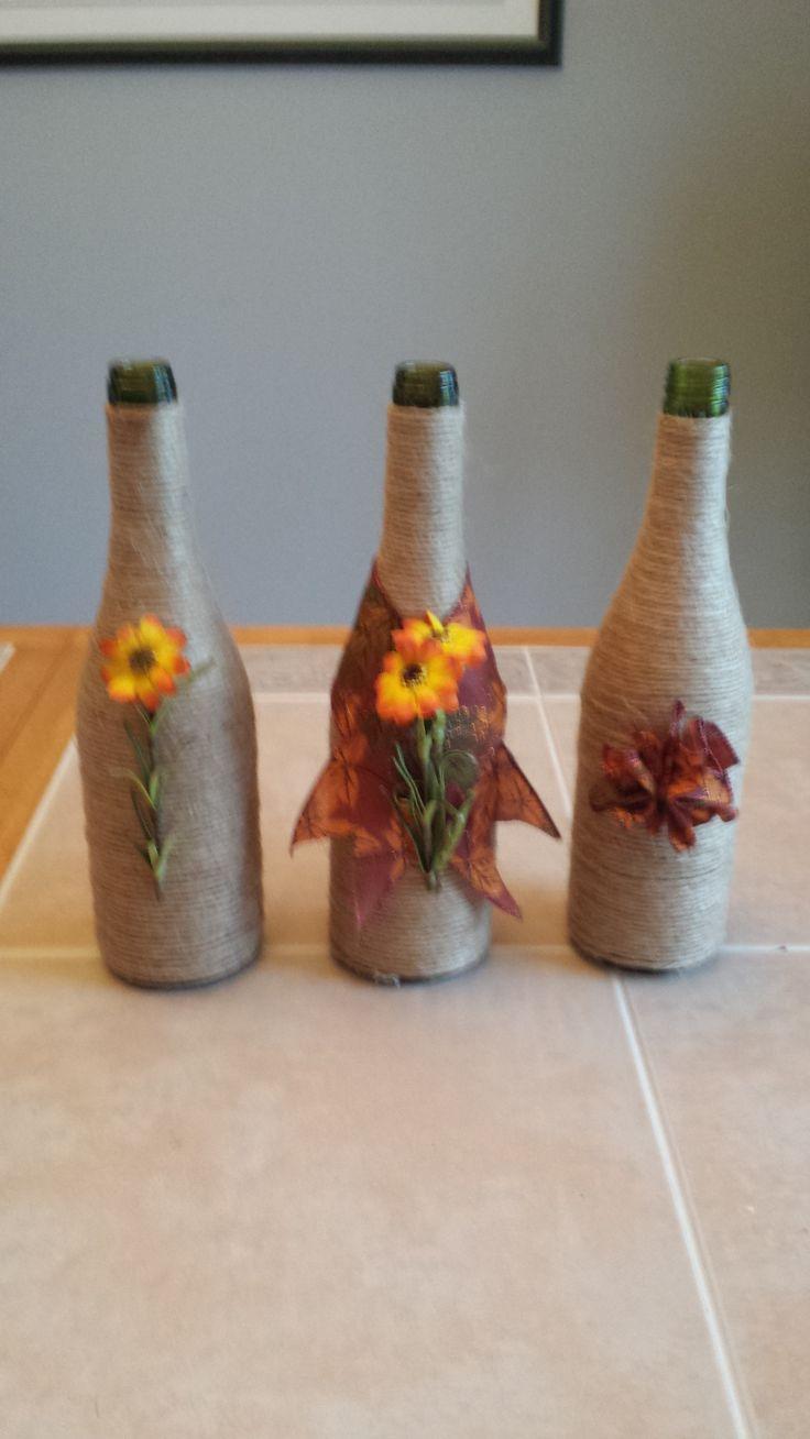 Decorative bottles, handmade art. 20$ at http://www.nancy-cie.com/#!product-page/c151c/68e1e462-6a55-1ee2-4248-60b6f5c0cef1