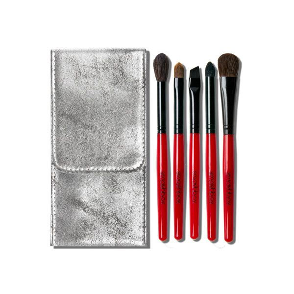 smashbox Line And Define Brush Set found on Polyvore