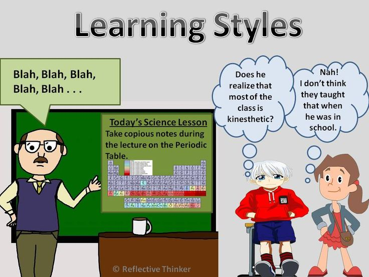 Learning styles essay