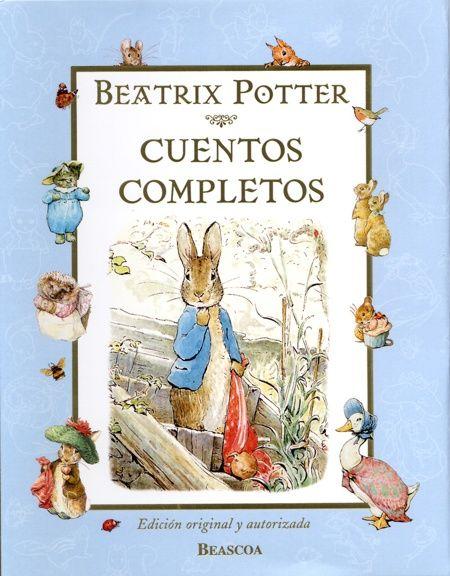 Los Cuentos Completos de Beatrix Potter son una auténtica delicia, apta para peques y mayores.