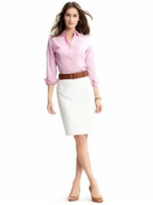 3423ee618e17 32 Cute and Classy Summer Work Outfits for Business Women | Clothes ...