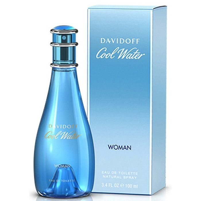 Cool Water Perfume by Davidoff 3.4 Oz EDT For Women