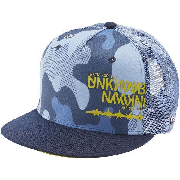 4a57bfb811263 Reebok CrossFit Camo Cap ( 9.99) ❤ liked on Polyvore featuring accessories