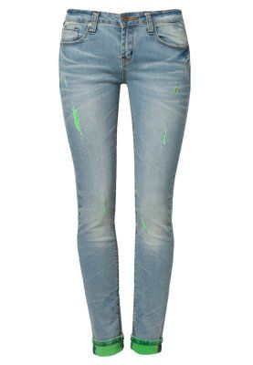 One Green Elephant ♥ MEMPHIS - Slim fit jeans - blå