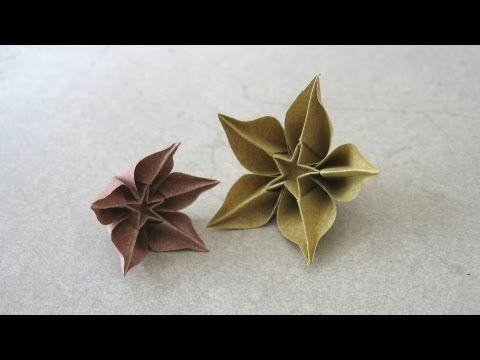 Origami Instructions: Carambola (Carmen Sprung). Link download: http://www.getlinkyoutube.com/watch?v=87F2oJamoKc