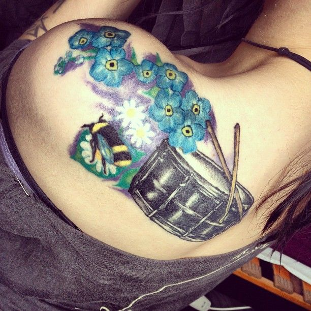 Gallery For > Animal Drums Tattoo | Drums - Tattoos | Drum ...