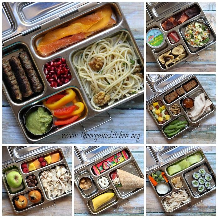 Healthy School Lunch Menu and 15% Discount on the PlanetBox! | The Organic Kitchen Blog and Tutorials