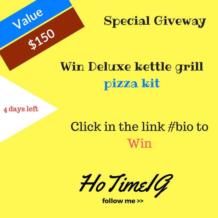 Pizza kit http://www.giveaway.hotime.org/giveaway/enter-to-win-deluxe-kettle-grill-pizza-kit-149/