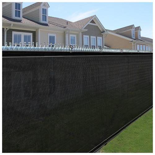 Privacy screen fence mesh 6 39 windscreen outdoor backyard for Garden screening fabric
