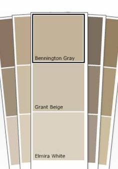 Bennington Gray - Benjamin Moore Paint - Nuetral for 707 House