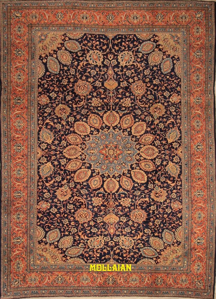 Mollaian Tappeti, Saruq d'epoca 350x250
