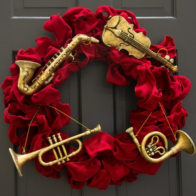 74 Best Musical Instrument Ornaments Images On Pinterest