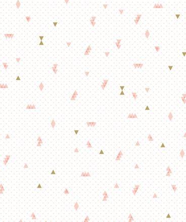 Papier peint intiss rose et dor maison pinterest intiss papier peint et peindre - Tapisserie capitonnee rose ...