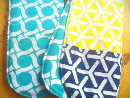 Organic Cotton Oven Mitts - by Empire Eco Designs