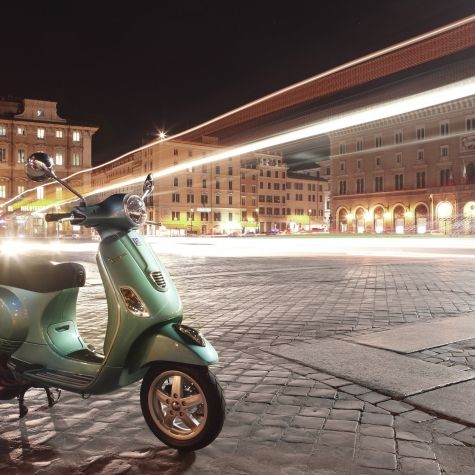 Vespa LX 50 4V Aquamarine City Lights
