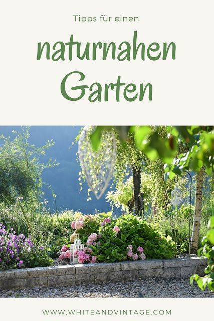 Ein Garten Mit Okologischen Grundsatzen Naturnah Und Romantisch Garten Naturnaher Garten Naturgarten
