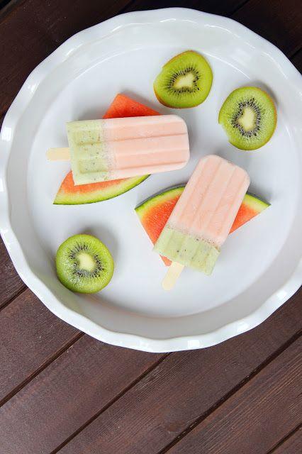 Fruchtiges Eis am Stiel