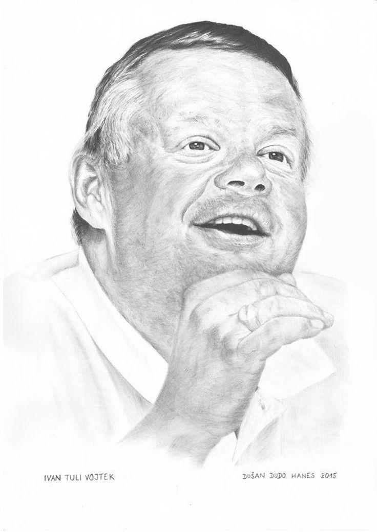 Ivan Tuli Vojtek, portrét Dušan Dudo Hanes