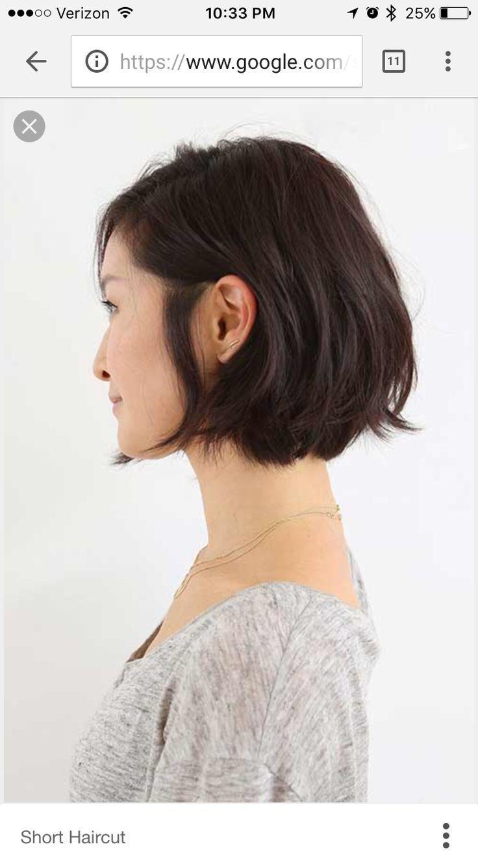 Kinnlang Frisuren
