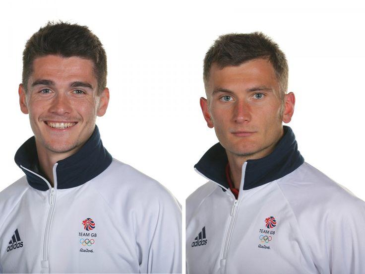 Callum Hawkins (left) will run the marathon for Great Britain alongside older…