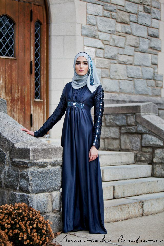 Amirah Couture Hijab Collection Black Ice Collection Winter  2013